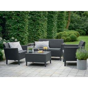 Комплект мебели Salemo set серый