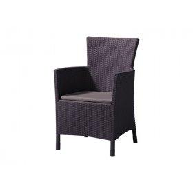 Кресло Iowa коричневое