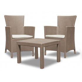 Комплект мебели Rosario balcony Set бежевый