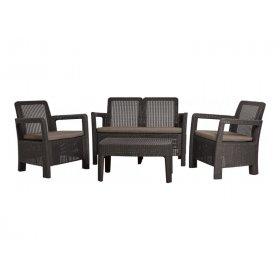 Комплект мебели Tarifa lounge set коричневый