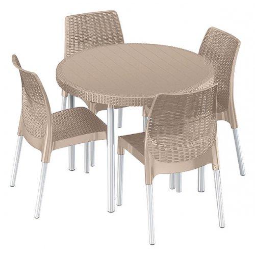 Комплект садовой мебели Jersey set беж