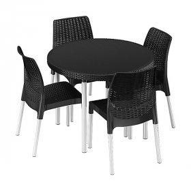 Комплект садовой мебели Jersey set серый
