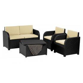 Комплект садовой мебели Modena set серый