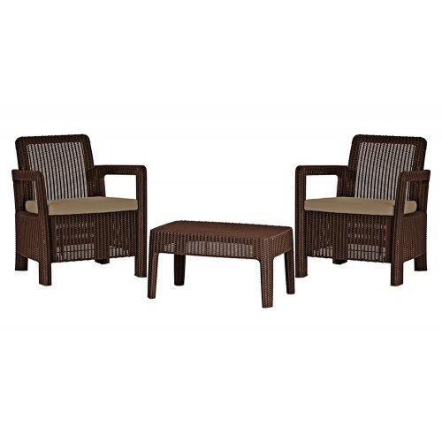 Комплект садовой мебели Tarifa Balcony коричневый