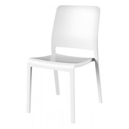 Стул пластиковый Charlotte Deco Chair белый