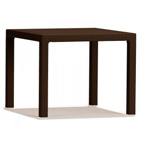 Стол Melody Quartet коричневый