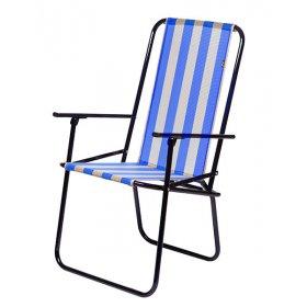 Кресло портативное Дачное голубое