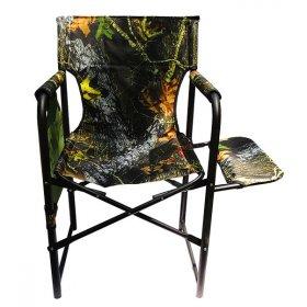 Кресло портативное Режиссер с полкой камуфляж