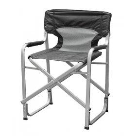 Кресло портативное Режиссерское алюминий