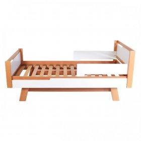 Кровать подростковая Манхэттен 190 бело-буковый