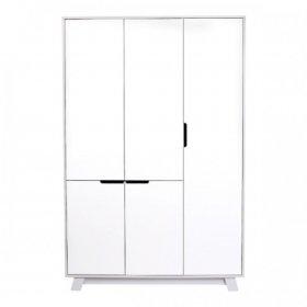 Шкаф 1200 Манхеттен бело-серый