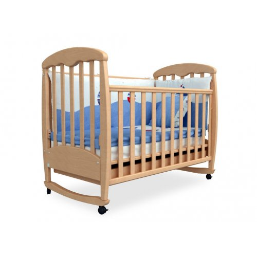 Детская кроватка Соня ЛД-1 бук