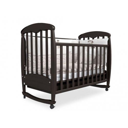 Детская кроватка Соня ЛД-1 орех