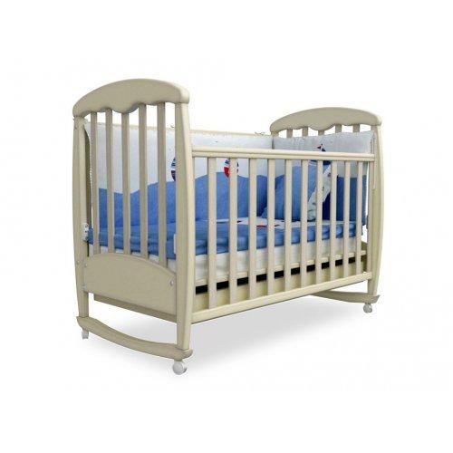Детская кроватка Соня ЛД-1 патина дуб молочный