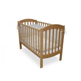 Детская кроватка Соня ЛД-10 бук маятник
