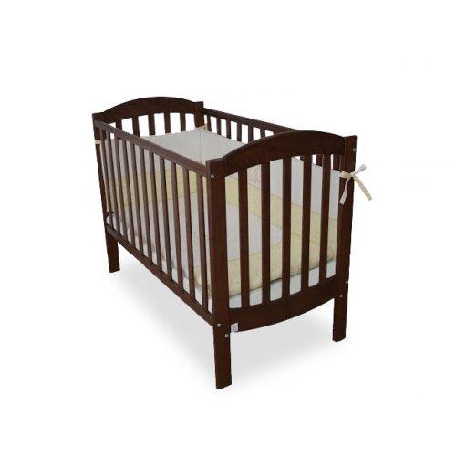 Детская кроватка Соня ЛД-10 орех маятник