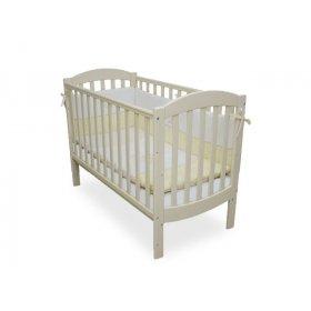 Детская кроватка Соня ЛД-10 слоновая кость маятник