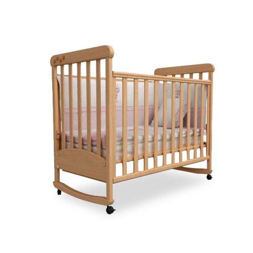 Детская кроватка Соня ЛД-12 бук