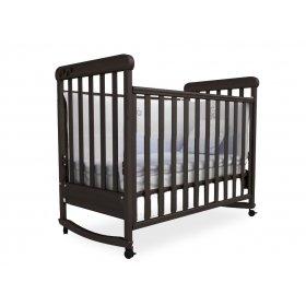 Детская кроватка Соня ЛД-12 орех