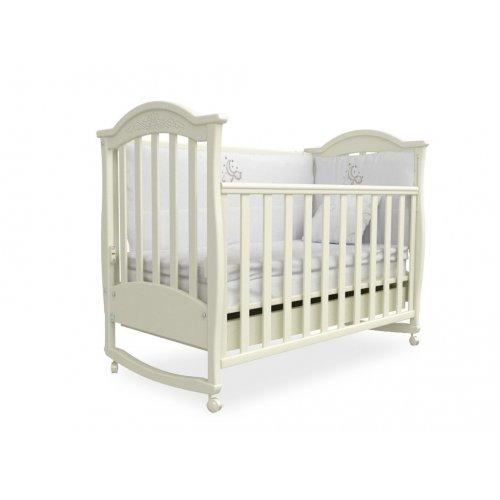Детская кроватка Соня ЛД-3 слоновая кость
