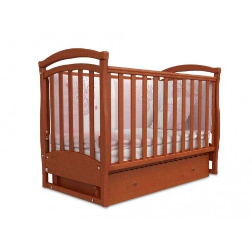 Детская кроватка Соня ЛД-6 ольха маятник