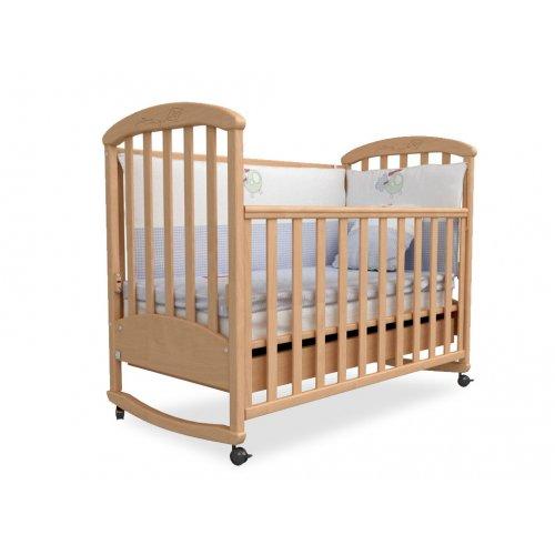 Детская кроватка Соня ЛД-9 бук