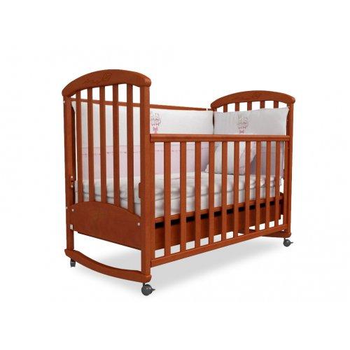 Детская кроватка Соня ЛД-9 ольха