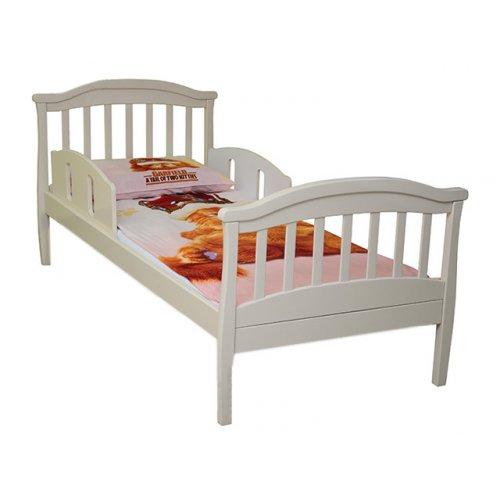 Кровать подростковая Соня ЛД 17 слоновая кость