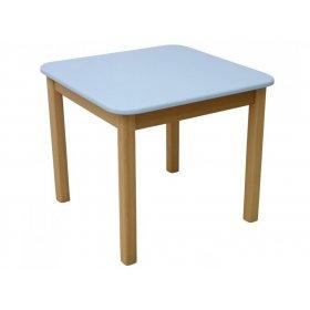 Детский столик голубой