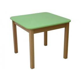 Детский столик зеленый