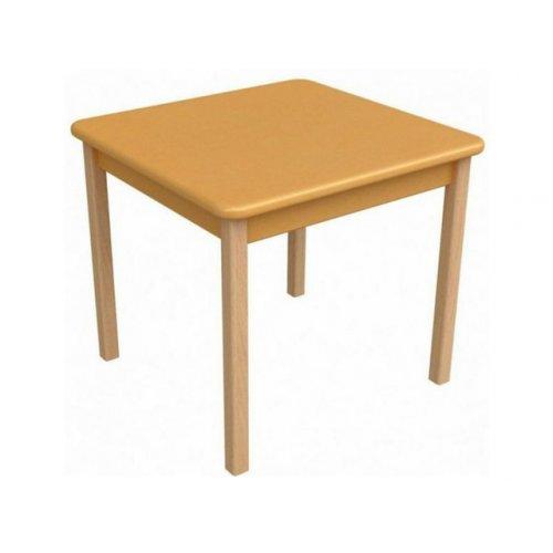 Детский столик оранжевый