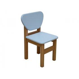 Детский стульчик голубой