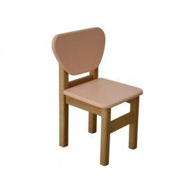 Детский стульчик персик