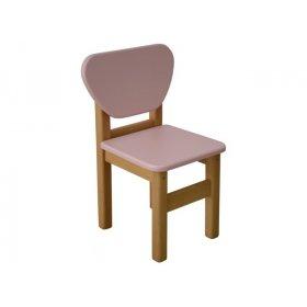 Детский стульчик розовый