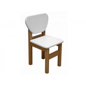Детский стульчик белый