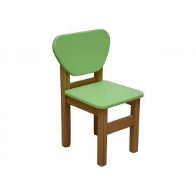 Детский стульчик зелёный