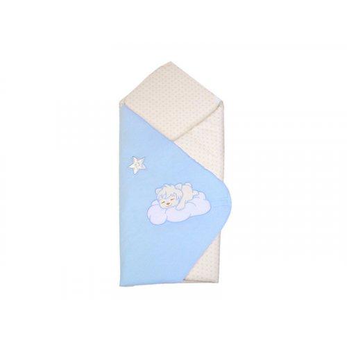 Конверт-одеяло весна-лето Veres Sleepyhead blue