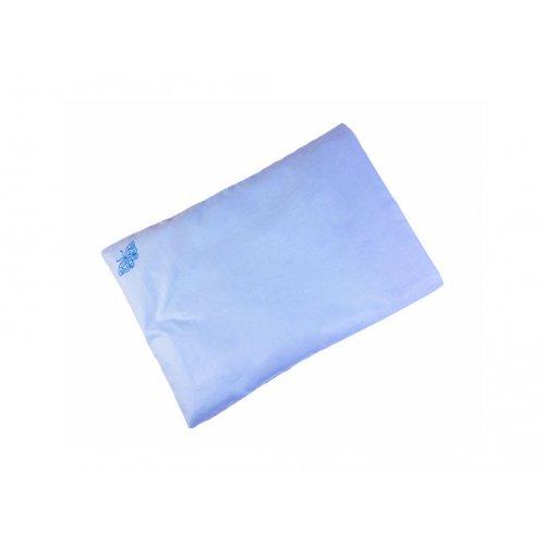 Голубая наволочка 40х60
