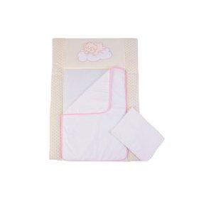 Пеленальный матрас Veres Sleepyhead pink