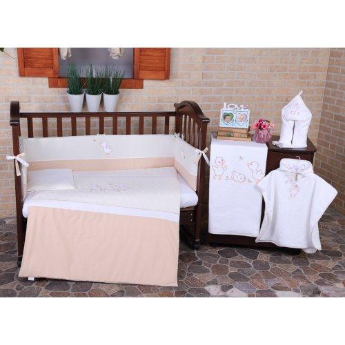 Детский постельный комплект Veres Ducklings 6 единиц