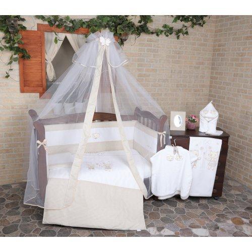 Постельное белье для новорожденного Veres Fairy Tale beige 7 единиц