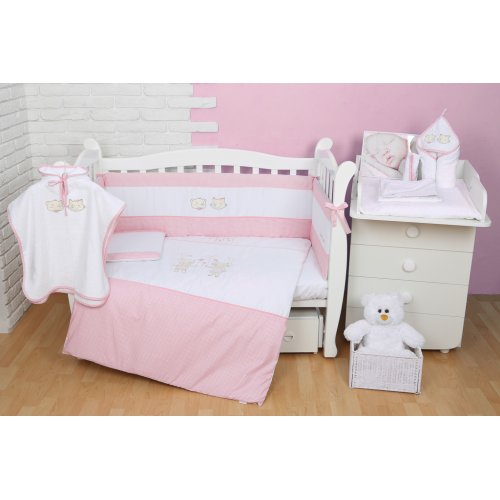 Постельное белье для новорожденного Veres Fairy Tale pink 6 единиц