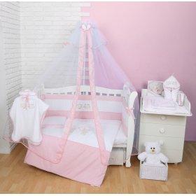 Постельное белье для новорожденного Veres Fairy Tale pink 7 единиц