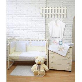 Постельное белье для новорожденного Veres Little Cat 6 единиц