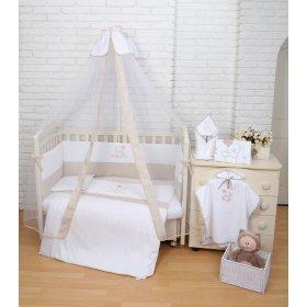 Постельное белье для новорожденного Veres Sweet Bear 7 единиц