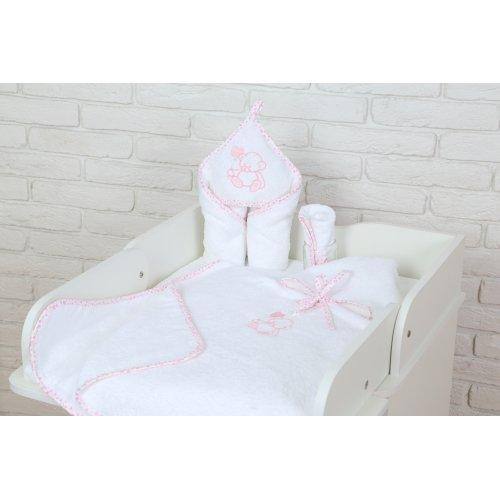 Полотенце Veres Sweet bear розовый