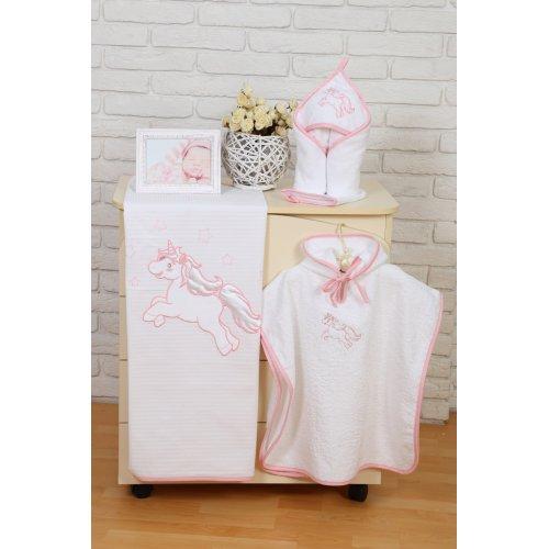 Пончо Veres Unicorn розовый