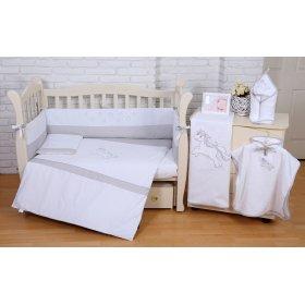 Постельное белье для новорожденного Veres Unicorn white 6 единиц
