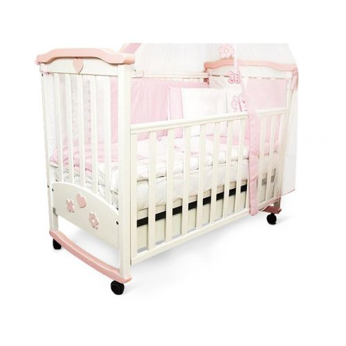Детская кроватка Соня ЛД-2 (с аппликацией)
