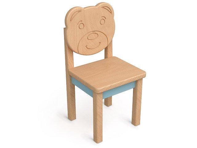 Детский стул из дерева фото